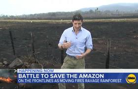 Brazil rejects G-7 money to fight Amazon wildfires
