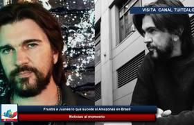 Frustra a Juanes lo que sucede al Amazonas en Brasil