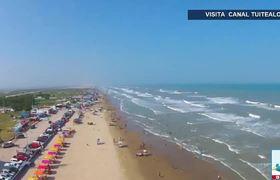 Así es Playa Bagdad sol, arena y narcotráfico entre EU y México