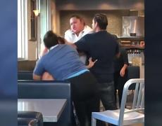 Fight between employee and McDonalds costumer