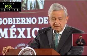 """El presidente López Obrador denunció """"contubernio"""" entre criminales"""
