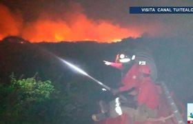 Crecen problemas de salud por incendios en Tabasco