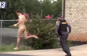 Manhunt for Naked Gunman Comes to an End in Virginia