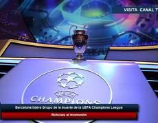 Barcelona lidera Grupo de la muerte de la UEFA Champions League