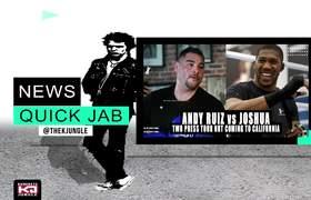 Andy Ruiz vs Anthony Joshua 2 Press Tour NOT Coming To California
