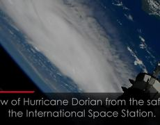 Spectacular View of Hurricane Dorian from International Space Station