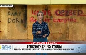 Florida braces for Hurricane Dorian: