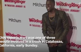 Hollywood Sends Kevin Hart Love After Serious Car Crash