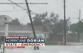 Hurricane Dorian tears through parts of the Bahamas