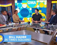 Bill Hader on the rumor he got his start in a Janet Jackson video