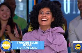 Catching up with Tracee Ellis Ross live on 'GMA'