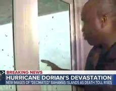 Death toll climbs in Bahamas after Hurricane Dorian