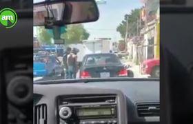 Así operan presuntos asaltantes de automovilistas en bulevar Valtierra