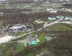 #VIDEO: Aerial footage shows total devastation in Abaco, Bahamas after Hurricane Dorian