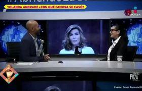 Verónica Castro le responde a Yolanda Andrade por supuesta boda entre ellas