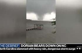 Hurricane Dorian makes landfall in North Carolina