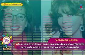 ¡Verónica Castro niega haberse casado con Yolanda Andrade!