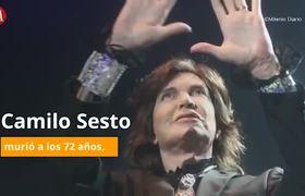 Camilo Sesto y el día que lloró al cantarle