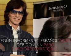 Muere el cantante Camilo Sesto