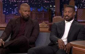 Michael B. Jordan and Jamie Foxx Recall Filming Just Mercy's Emotional Courtroom Scene