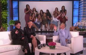 The Ellen Show: Kylie and Kris Jenner Reward Inspiring Women with Huge Gifts