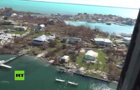 The devastation after Hurricane Dorian in the Bahamas