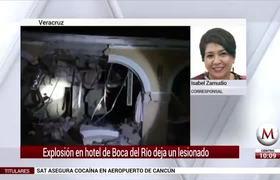 Explosión de gas provoca derrumbe de hotel en #Veracruz