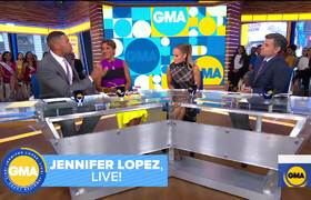Jennifer Lopez talks learning to pole dance from Cardi B