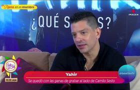 Yahir se quedó con ganas de trabajar con su ídolo Camilo Sesto
