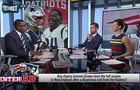 Cris and Nick react to Antonio Brown agreeing to 1-yr deal with Patriots