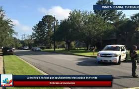 Al menos 6 heridos por apuñalamiento tras ataque en Florida