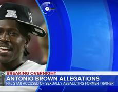 NFL star Antonio Brown accused of sexual assault