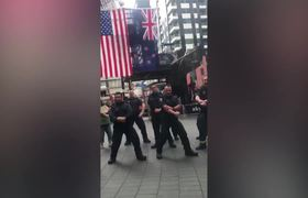 New Zealand Firefighters Perform Emotional Haka To Mark 9/11