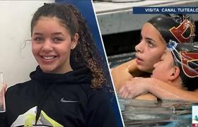 Nadadora Breckyn Willis es descalificada por su ajustado traje de baño