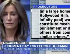 Felicity Huffman to be sentenced in 'Varsity Blues' scandal