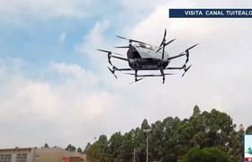 Dron de pasajeros volará por primera vez México en 2020