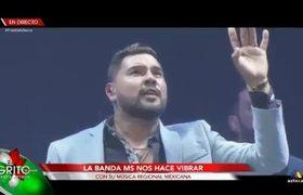 BANDA MS EN EL GRITO DE INDEPENDENCIA DE MEXICO 2019 15 SEPTIEMBRE