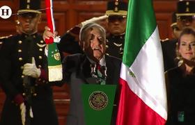 Así fue el primer grito de independencia de Lopez Obrador