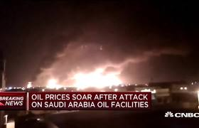 Oil prices soar after attack on Saudi Arabia oil facilities
