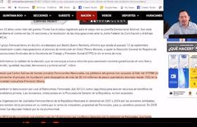Mexicanos Exigen que sea investigado Líder Sindical que gana 1.5 millones cada mes