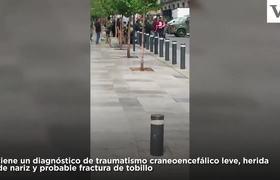 #VIDEO: Se estrella contra el suelo paracaidista en Desfile Militar