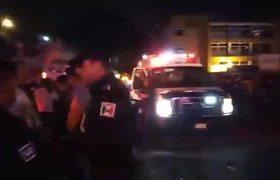 Personas heridas por accidente con pirotecnia por problema durante grito en Xalapa