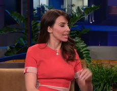 The Tonight Show with Jay Leno interview Whitney Cummings