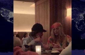 Captan a Peña Nieto y Tania Ruiz disfrazados para ir a cenar en Nueva York