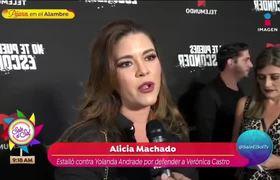 ¡Alicia Machado estalla contra Yolanda Andrade!