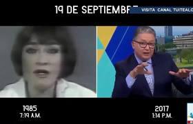 México recuerda los sismos del 19 de Septiembre de 1985 y 2017