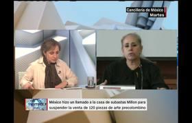 México no logró frenar subasta de 120 piezas precolombinas en Francia
