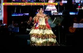 Regina Orozco opina del retiro de Verónica Castro
