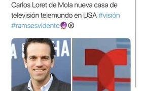 Carlos Loret de Mola en Telemundo