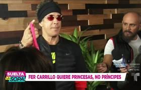 Fernando Carrillo desmiente a Mhoni Vidente y busca princesa